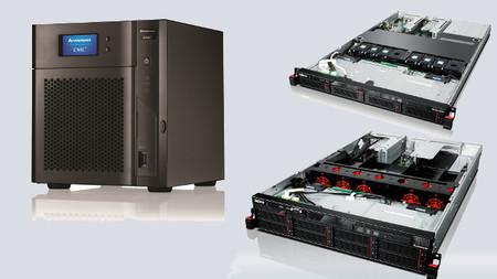 Nuevos servidores de almacenamiento de Lenovo ThinkServer