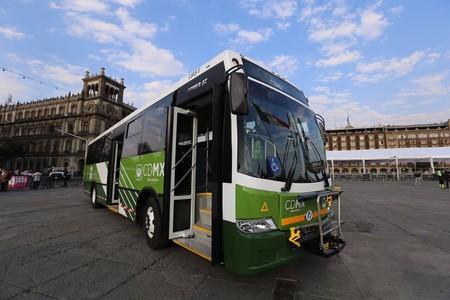 La CDMX estrena nuevos autobuses con puertos USB, GPS, cámaras de seguridad y botones de auxilio