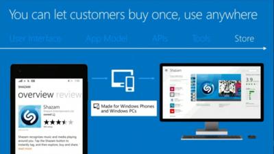 Microsoft presenta aplicaciones universales para Windows Phone, Windows y Xbox