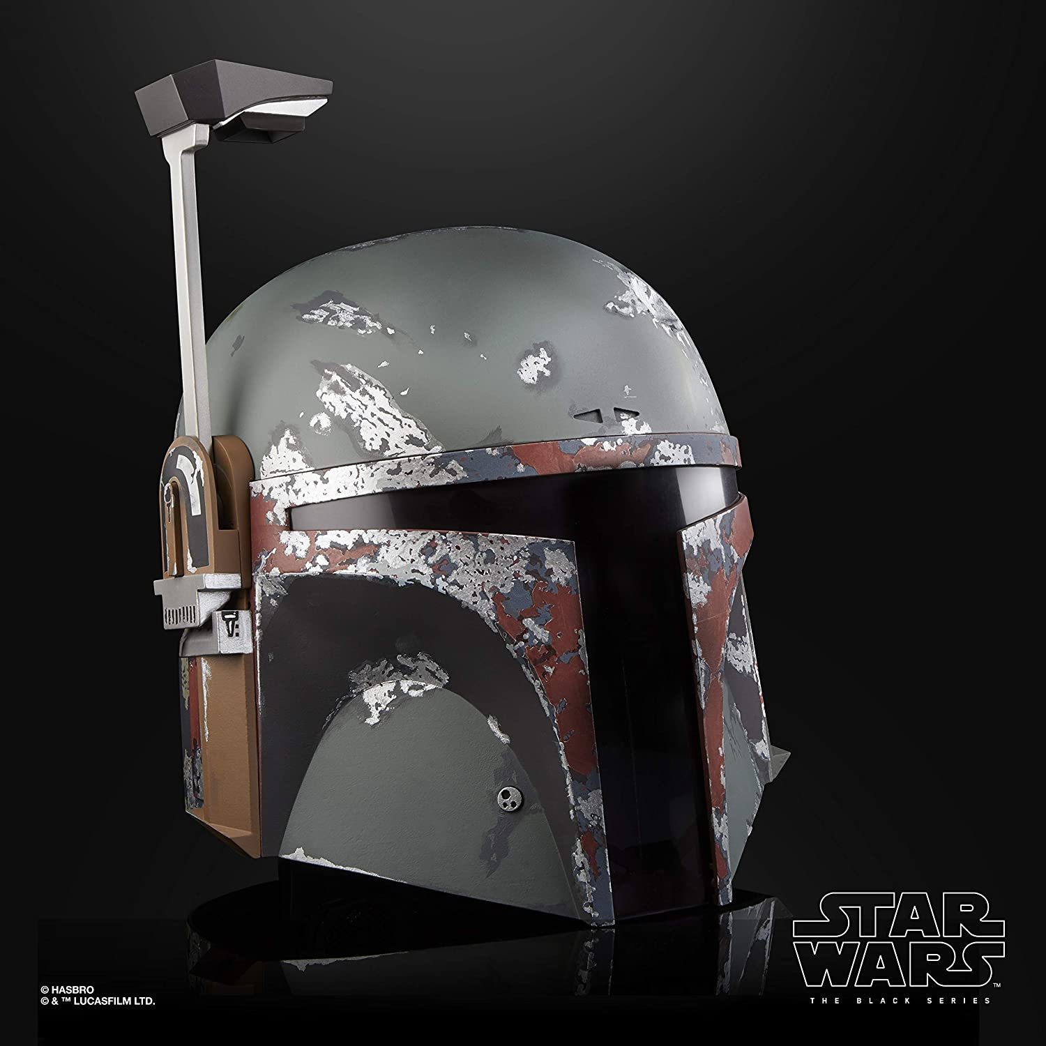 STAR WARS The Black Series Boba Fett Premium Electronic Helmet, The Empire Strikes Back