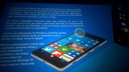 Lumia 950 y 950XL 2