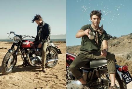 HE by Mango, campaña Primavera-Verano 2010: un hombre en el desierto I
