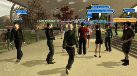 Playstation Home y PSP podrán comunicarse