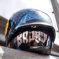 'Bad Boy' es el casco de Jorge Lorenzo para el GP de Catalunya, y vuelve a esconder un mensaje motivador