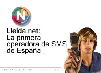 Lleida.net el primer operador SMS virtual