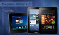 Los seis mejores tablets Android de 7 pulgadas