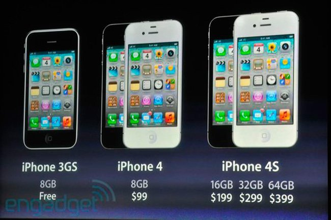 Precio iPhone 4s