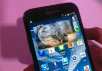 Samsung Galaxy Note II. Toma de contacto