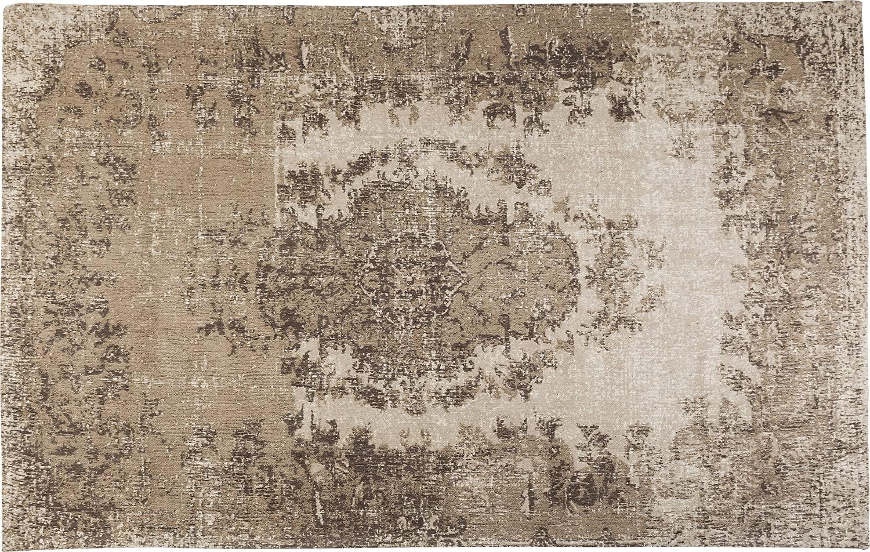 KARE Alfombra Kelim Pop, Beige, 1 x 170 x 240 cm
