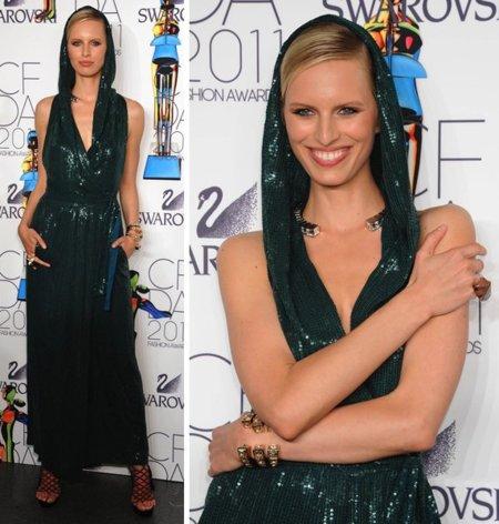 El estilo llegó a los premios CFDA 2011: famosas, modelos y diseñadores deslumbran
