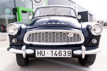 Skoda Octavia de 1961