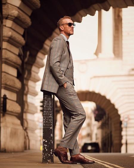 El Mejor Street Style De La Semana London Fashion Week Mens Trendencias Hombre 06