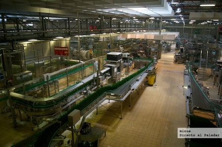 Elaboración Pilsner Urquell - envasado