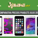 ¿Buscas smartphone de gran pantalla? estos son sus precios libres y con operadoras