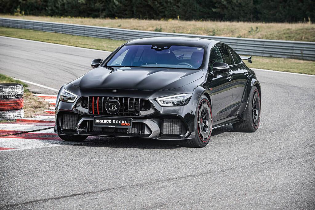 Brabus convierte el Mercedes-AMG GT 63 S en una bestia de 900 CV y 600.000 euros