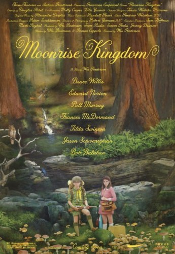 El cartel de Moonrise Kingdom