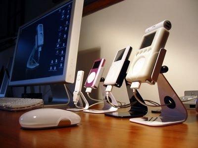Soporte Ped2 para los iPod nano