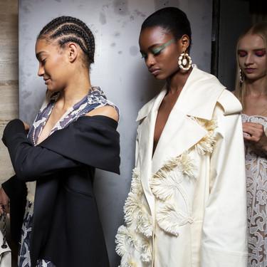 Las nueve tendencias de belleza en pelo y maquillaje más sorprendentes de la NYFW Primavera Verano 2020