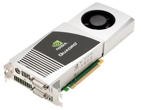 Nueva Nvidia Quadro FX 4800 para Mac, alto rendimiento para profesionales
