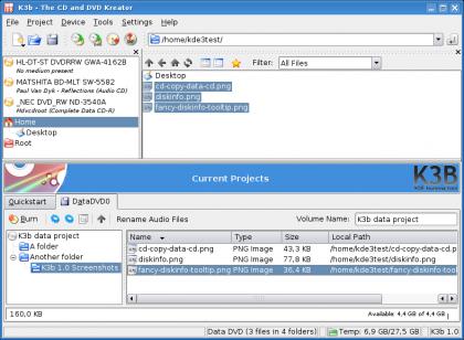 K3B 1.0, conoce la más completa aplicación libre de grabación