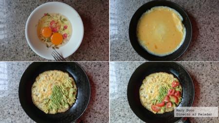 Pasos Omelete