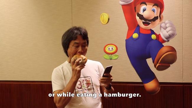 Shigeru Miyamoto Hamburger