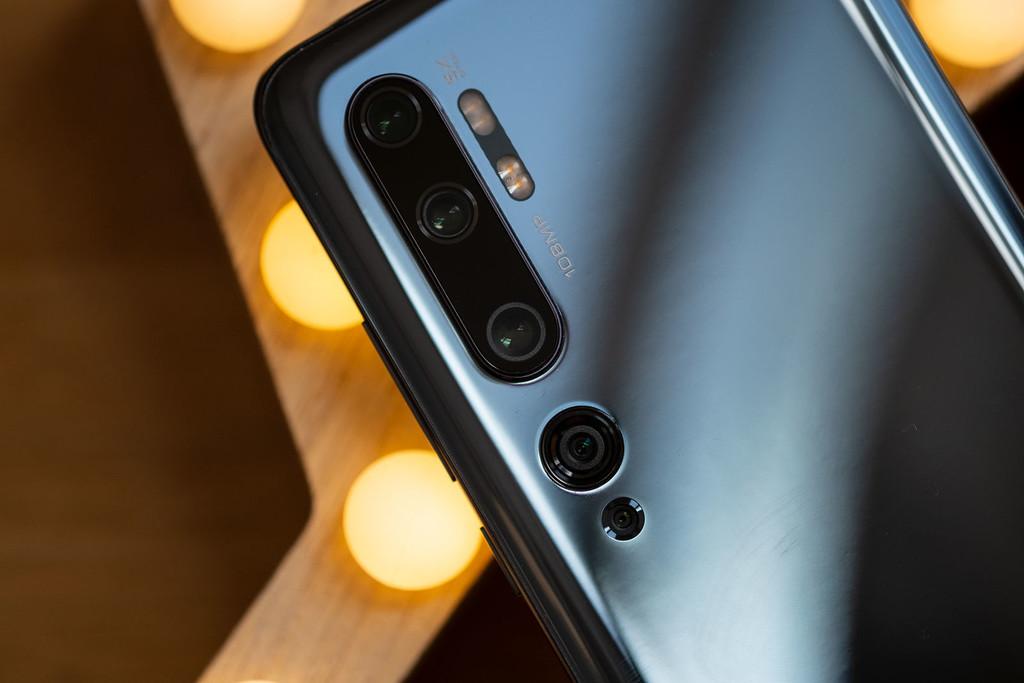 Así son las cinco cámaras del nuevo Xiaomi℗ Mi Note 10, el 1.º con 108 megapíxeles