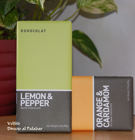 Chocolate de naranja y cardamomo Kshocolât