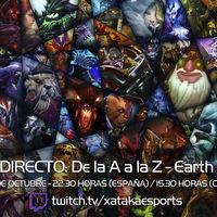 """Earth Spirit en directo con la sección """"Dota 2 de la A a la Z"""" a las 22:30 horas (las 15:30 en Ciudad de México) [Finalizado]"""