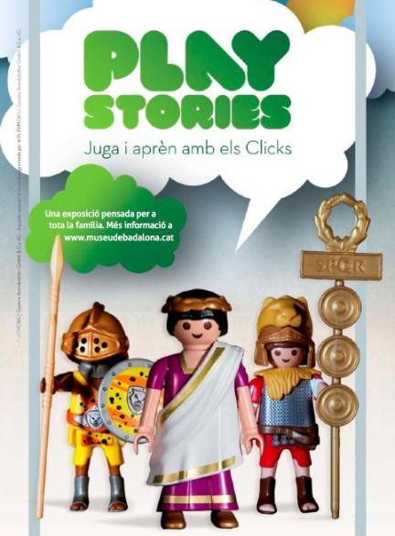 Play Stories: los clicks de Playmobil en el Museo de Badalona
