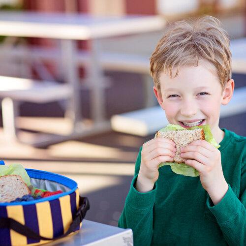 Cinco recetas fáciles de bocadillos y sándwiches para el cole, uno para cada día de la semana