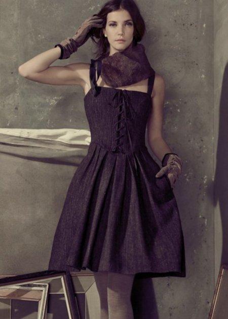 Vestido campana Hoss Intropia