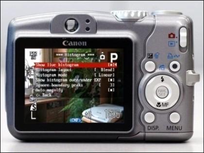 CHDK en una Canon PowerShot