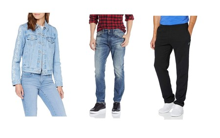 Chollos en tallas sueltas de pantalones, camisetas y chaquetas de marcas como Levi's, Reebok, G-Star o Dickies en Amazon