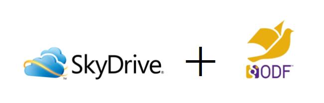 SkyDrive incorpora soporte para el formato ODF