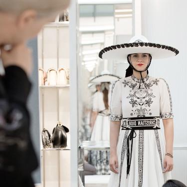 Así son los sombreros que Stephen Jones ha diseñado para Dior
