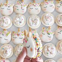 Estos son los 'macarons' con forma de unicornio que han vuelto loco a Instagram