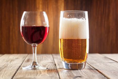 Vino y cerveza