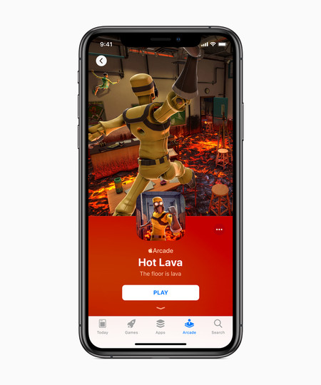 Apple Introduces Apple Arcade Hot Lava Iphone Xs 03252019
