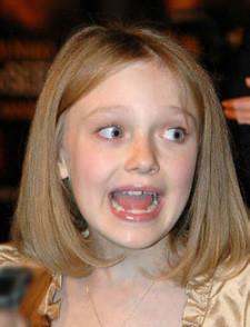 Dakota Fanning se asusta por las reacciones