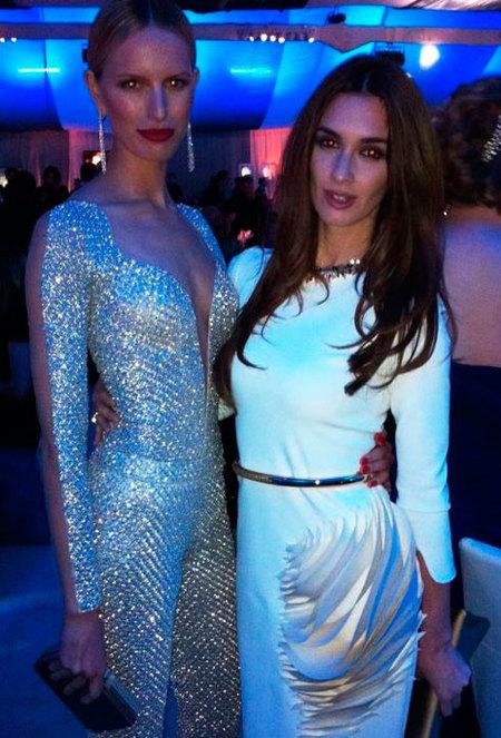 Karolina-Kurkova y Paz Vega en las fiestas de los oscar