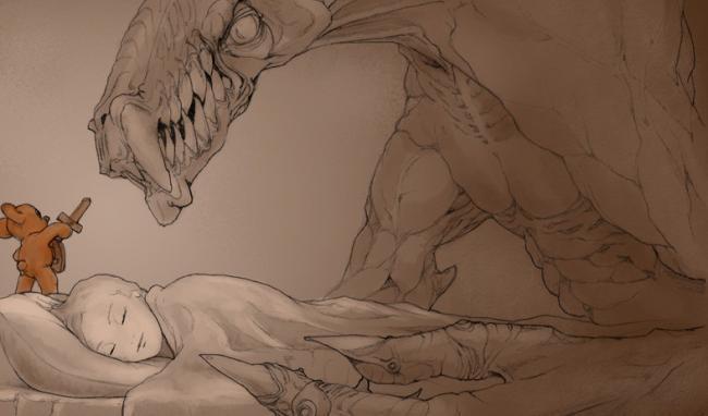 El dibujo de DevianArt