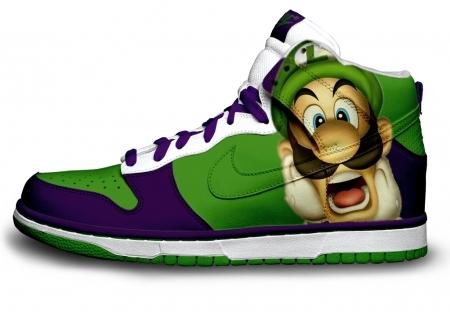 Foto de Zapatillas pintadas con personajes de videojuegos (8/9)
