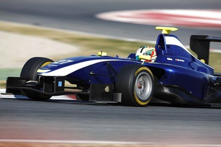 Antonio Felix da Costa es el piloto más rápido de las pruebas de las GP3 Series en Barcelona