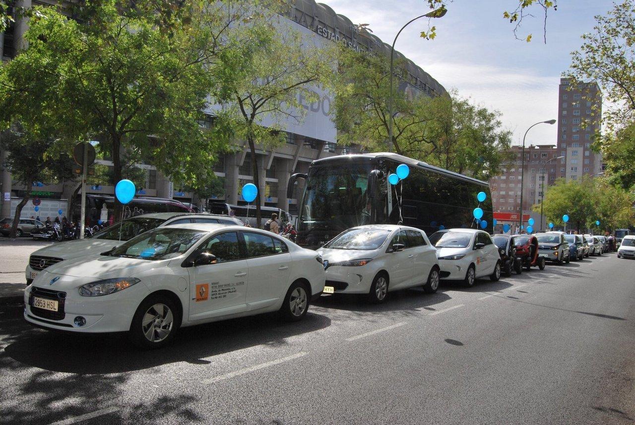 Foto de II Marcha vehículo eléctrico en Madrid (5/9)
