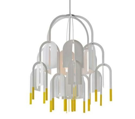 Lámparas decorativas que parecen móviles