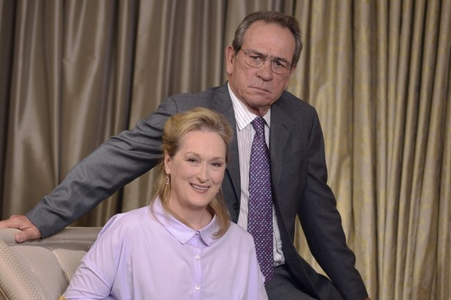 Meryl Streep y Tommy Lee Jones