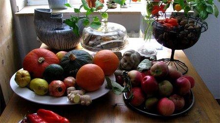 Frutas otoñales