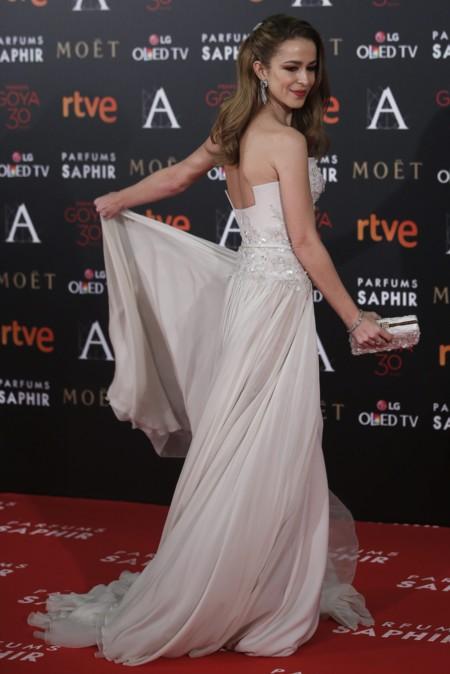 Silvia Abascal una auténtica princesa en los Goya 2016
