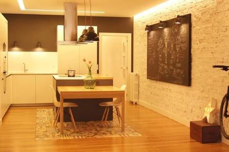 Puertas abiertas: un apartamento moderno y vanguardista con toques vintage en Bilbao